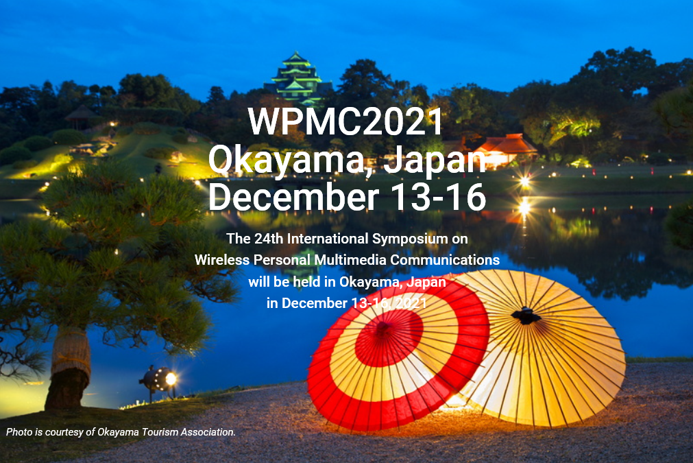 WPMC2021 in Okayama, Japan